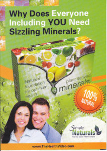 Simply Minerals brosjyre